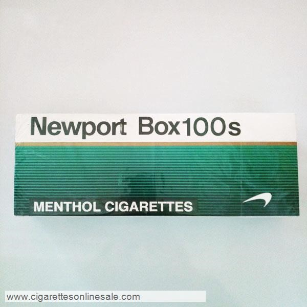 20 Cartons Of Newport 100s Menthol Cigarettes
