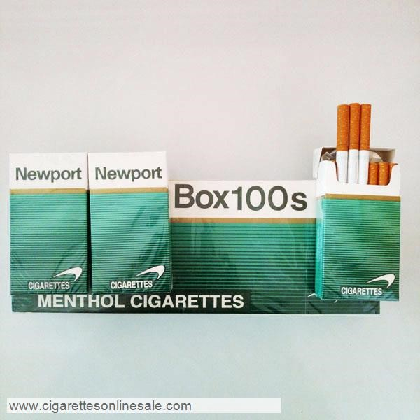80 Cartons Of Newport 100s Menthol Cigarettes