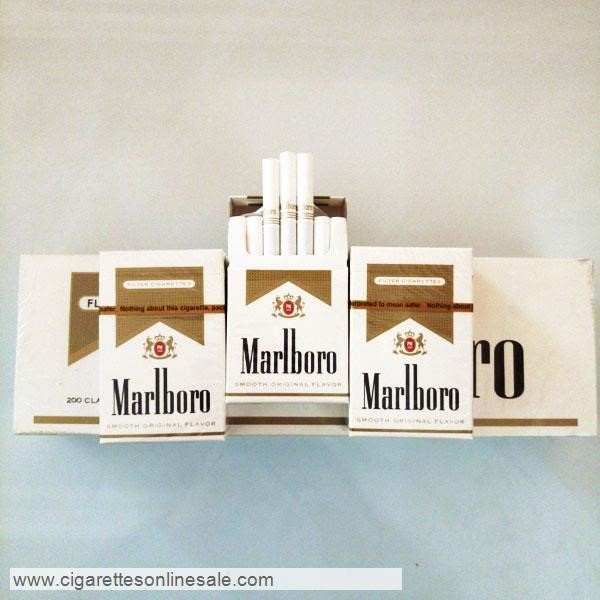 40 Carton Of Marlboro Gold Regular Cigarettes
